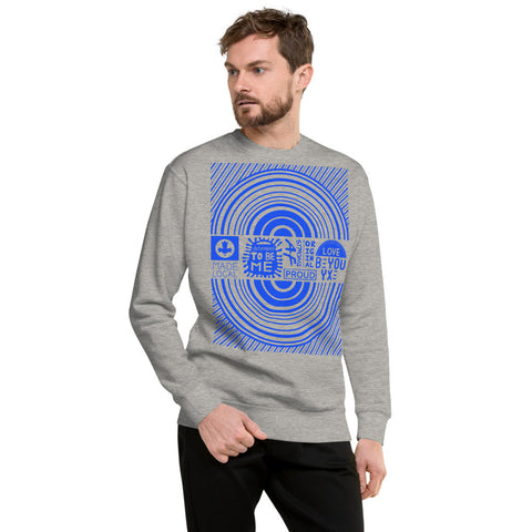 Made Local Unisex Fleece Sweatshirt - Be You YXE