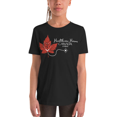 Healthcare Heroes Canada Youth T-Shirt - Be You YXE