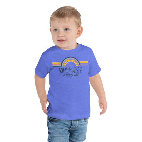 Kindness Always Wins Toddler T-Shirt - Be You YXE