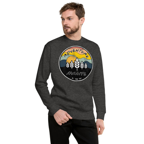 Adventure Awaits Unisex Fleece Sweatshirt
