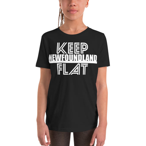 Keep Newfoundland Flat Youth T-Shirt - Be You YXE