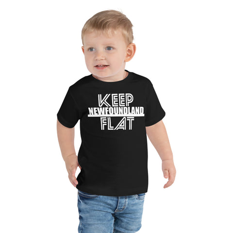 Keep Newfoundland Flat Toddler T-Shirt - Be You YXE