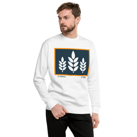 Wheat Unisex Fleece Sweatshirt