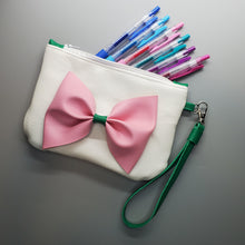 Load image into Gallery viewer, Pink Bow - Anime Inspired Ita Wristlet