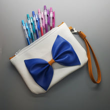 Load image into Gallery viewer, Blue Bow - Anime Inspired Ita Wristlet