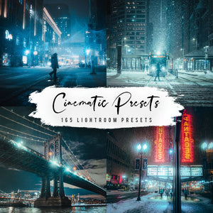165 Cinematic Presets