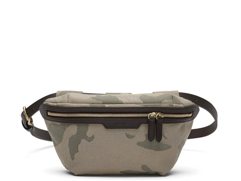 M/S Belt Bag - Sage Camo/Dark Brown