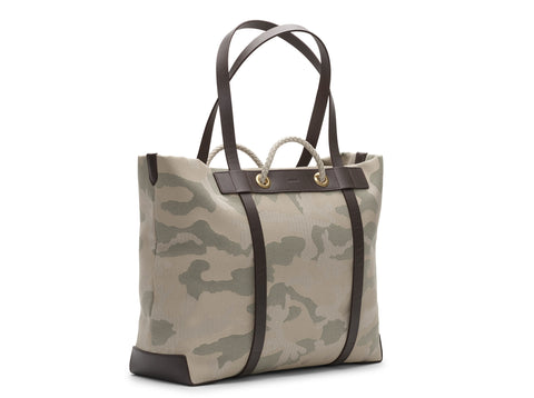 M/S Seaside - Sage Camo/Dark brown