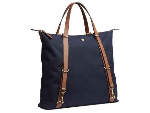 M/S Day Pack - Midnight/Cuoio