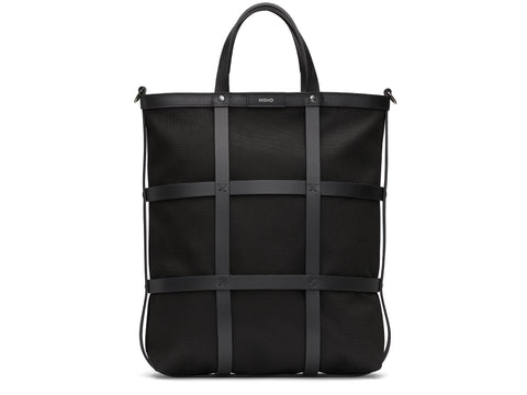 M/S Grid Shopper - Black/Black