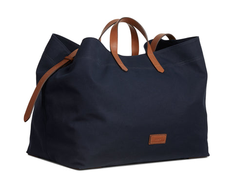 M/S Haven - Midnight blue/Cuoio
