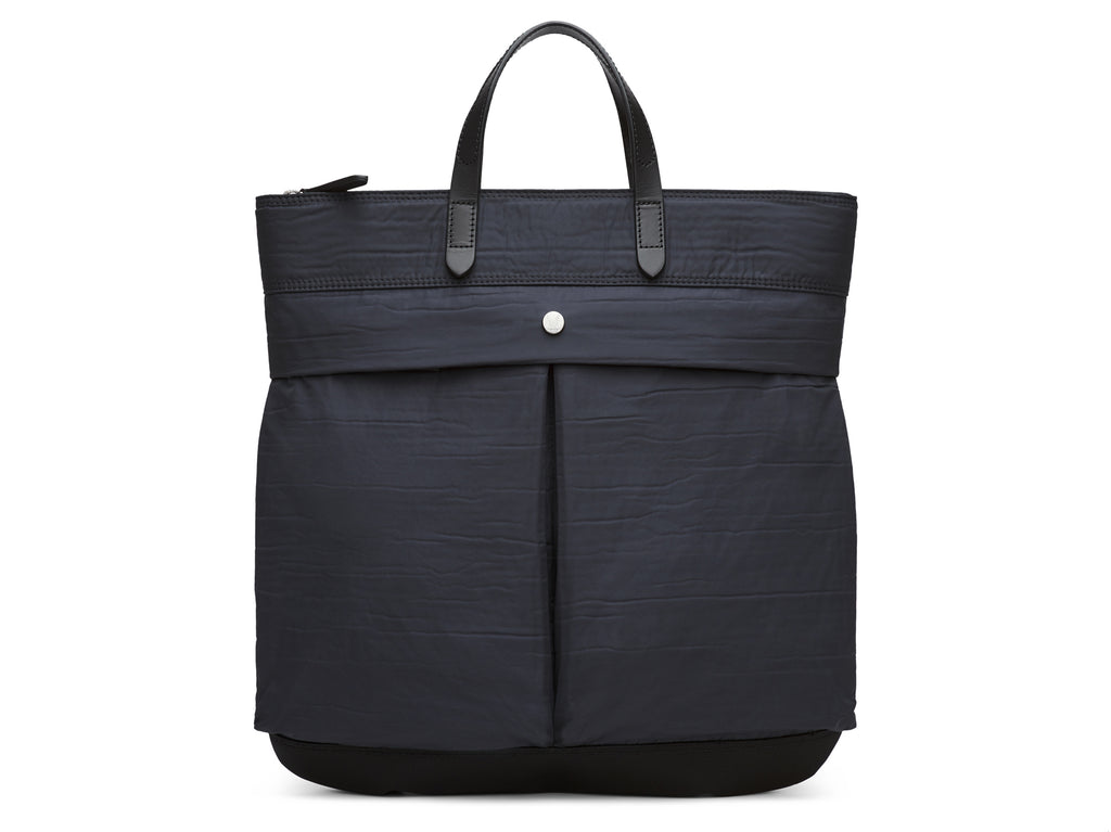 M/S Helmet Bag - Moonlight blue & Black/Black