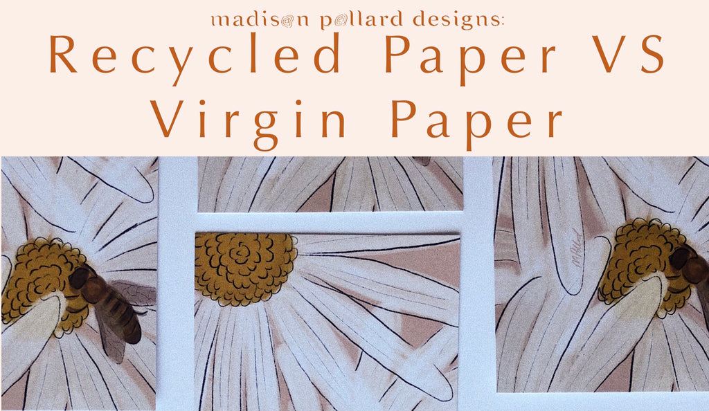 Recycled Paper VS Virgin Paper: The Benefits of Recycled Paper