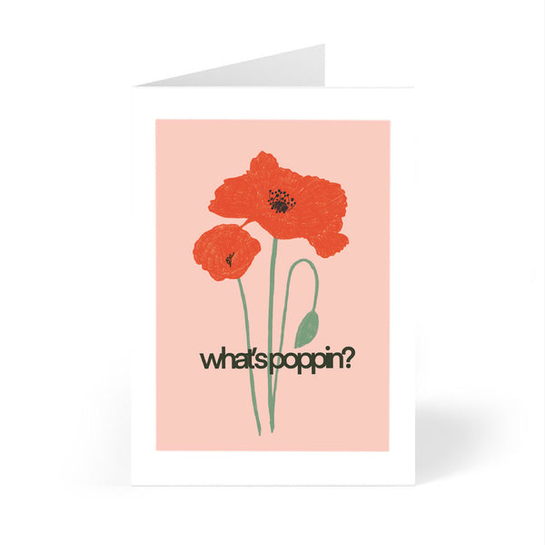 Plant Pun Greeting Card 7 Pack (Cards for Multiple Occasions on Recycled Paper)