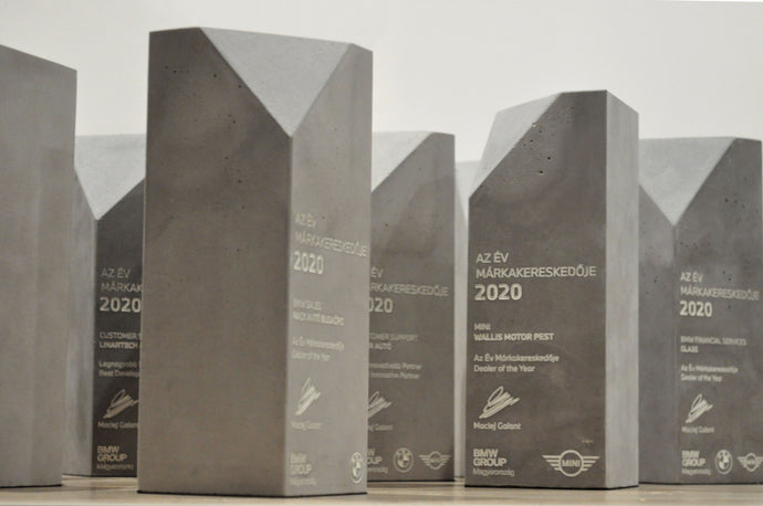 Concrete awards for the BMW Group