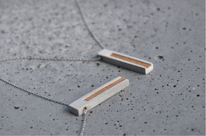 StoneHANG - concrete necklace