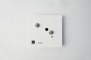 Constellation - concrete earrings