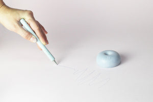 Drop pen - with table holder