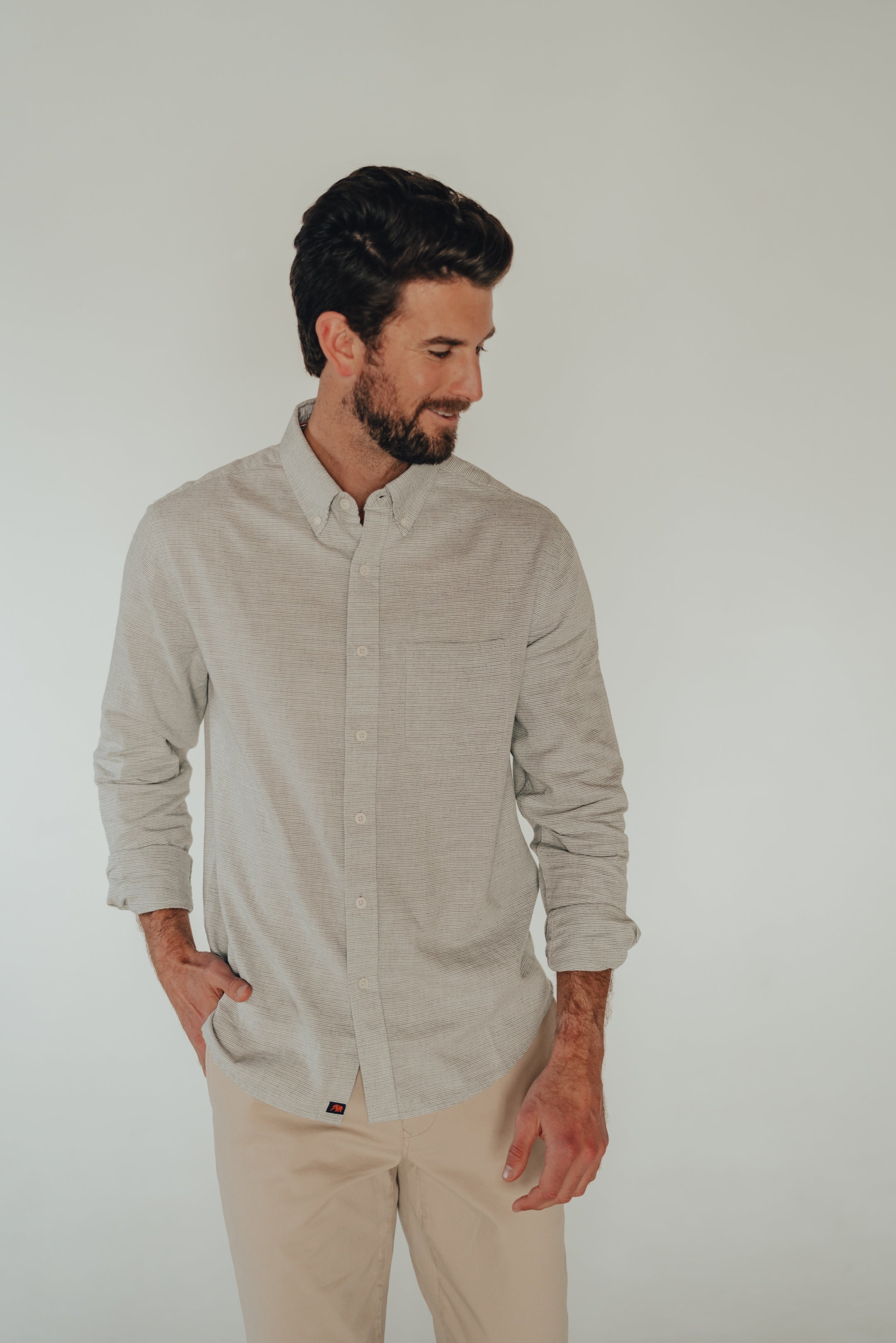 Midcoast Button Down LS