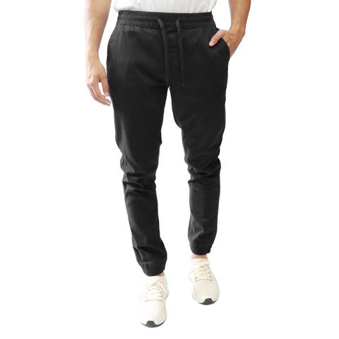 Classic Solid Jogger Pant with Elastic Waist, Hedge, $59
