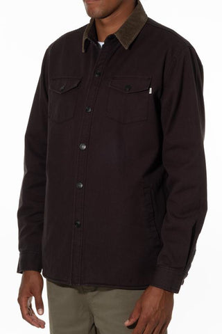 Button Down Jacket with Customer Flannel Body Liner in 100% Cotton, Katin, $130