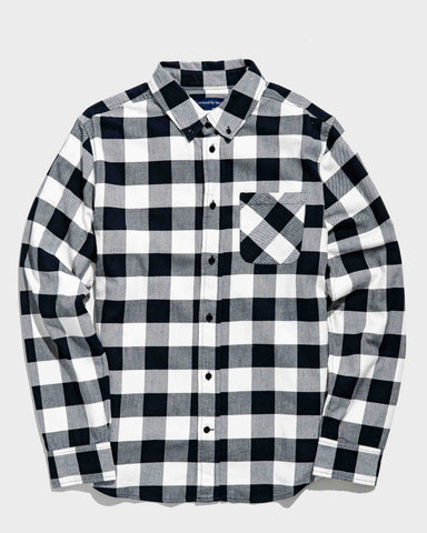 Soft, Durable, and Breathable Plaid Shirt in Organic Cotton and Hemp Blend Fabric, United by Blue, $78