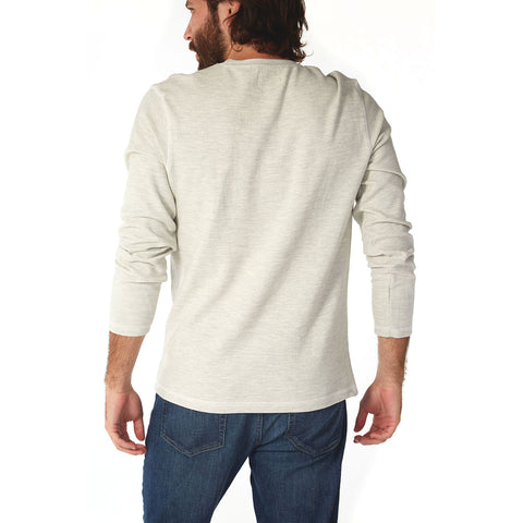 LS Ottoman Crew Neck Tee Made in an Eco-Friendly Factory, PX Clothing, $40.00