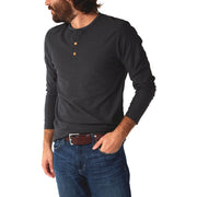 Subtle Multi-Striped 3-Button Henley Made in an Eco-Friendly Factory, PX Clothing, $39.00