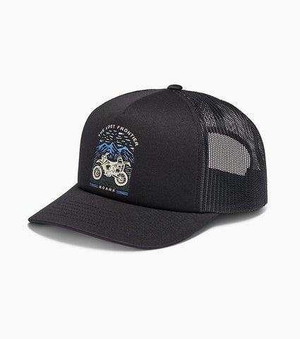 Trucker Hat with Adjustable Snapback Closure - Foam Front and Mesh Back, Roark, $32