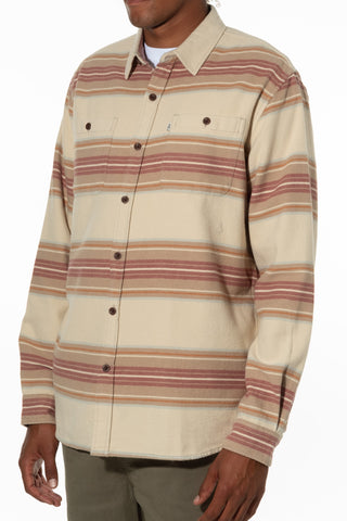 100% Cotton Twill Weave Stripe Heavy Weight Flannel Brushed with an Extra Soft Moleskin Finish, Katin, $80