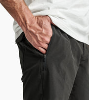 Quick Drying and Durable Travel Short with Self Stowing Back Pocket, Roark, $65