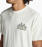 Soft Garment Dyed Graphic Tee with Natural Irregularities in Color, Roark, $31