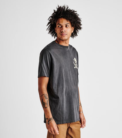 Garment Dyed Graphic Tee with Natural Irregularities in Color. 100% Pre-Shrunk, Roark, $31