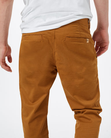 "Chino Pant in Stretch Twill Fabric 32"" Inseam, tentree, $88"