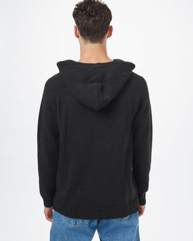 100% Organic Cotton Hooded Sweater with Raglan Sleeve and Front Kangaroo Pocket, tentree, $88