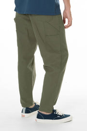 "Painter Style Pant in Cotton Canvas Fabric with a Wider Leg 32"" Inseam, Katin, $78"