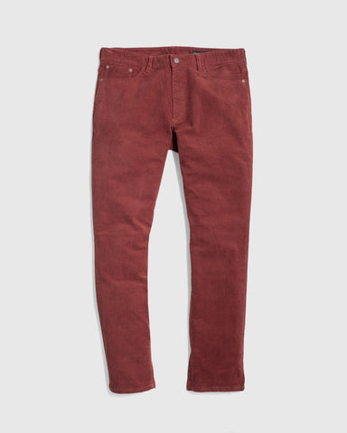 Durable, Soft Corduroy Pant in a Modern Straight Fit in Organic Cotton, United by Blue, $88