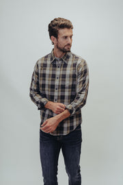 Lightweight Button Up in 100% Cotton and Treated with an Enzyme/Silicone Wash for Texture, The Normal Brand, $88