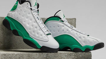 Official Photos Air Jordan Lucky Green 13s