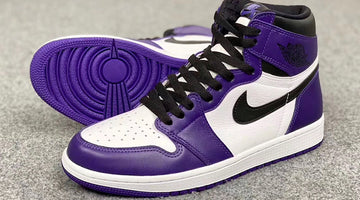 Air Jordan 1 High OG White Court Purple