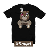 brown-sneaker-matching-tees
