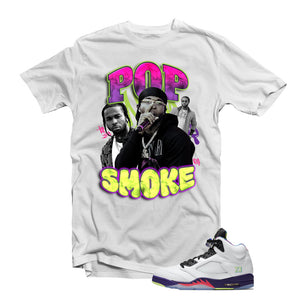 "MTK ""Pop Smoke"" Air Jordan ""Bel Air"" 5s Matching T-Shirt"