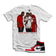"MTK Paid in Full ""Everybody Eats B"" Air Jordan 1s ""Snakeskin"" Matching T-Shirt"