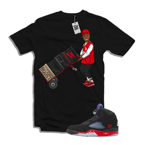 "MTK Da Baby ""Top 3"" 5s Matching Black T-Shirt"