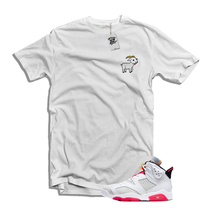 "MTK The Goat Air Jordan 6 ""Hare"" Matching T-Shirt"