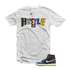 "MTK ""Hustle"" Air Jordan 1 ""Bio Hack"" Matching  White T-Shirt"