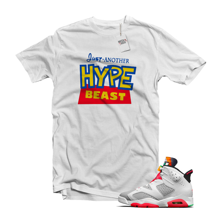 "MTK ""Hype Beast"" Air Jordan 6 ""Hare"" Matching White T-Shirt"