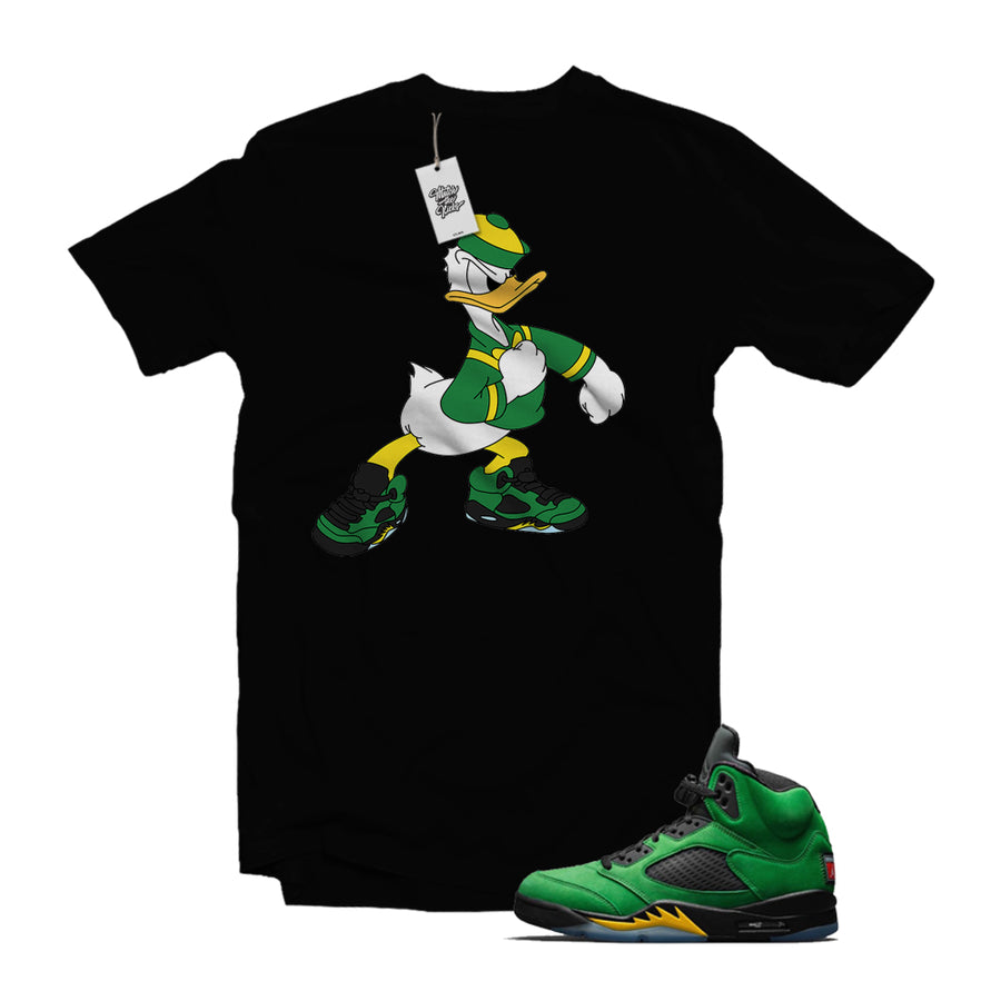 "MTK ""Oregon Duck"" Air Jordan 5 Oregon Matching Shirt"