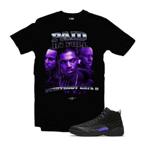 MTK Paid in Full Air Jordan Concord 12 Matching T-Shirt