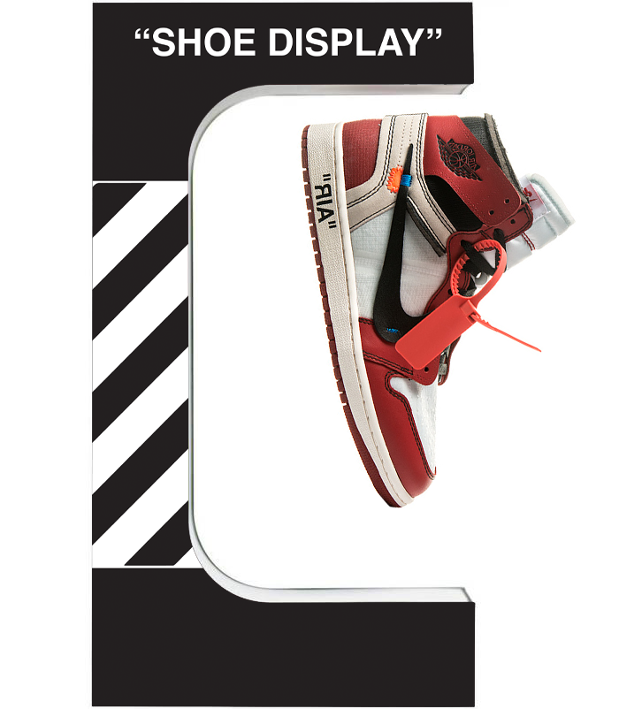 Customizable Floating Shoe Display (Pre-Order)